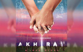 """Teaser Poster Film Terbaru Adipati Dolken dan Della Dartyan """"Akhirat: A Love Story"""" Dirilis."""