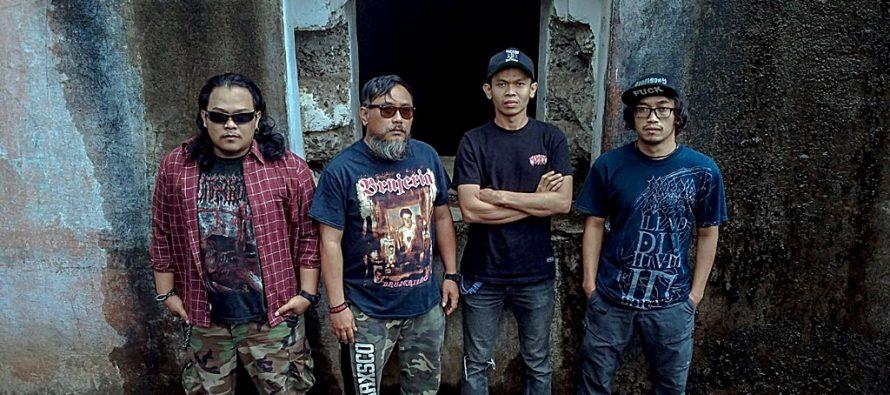 """""""Inhell"""" Grindcore Punk Asal Kota Bandung Rilis Album Terbaru Bertitel """"Phobia""""."""