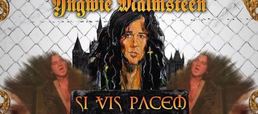 """""""Yngwie Malmsteen"""" sekali lagi melepaskan emosi di album terbaru, """"Parabellum""""."""