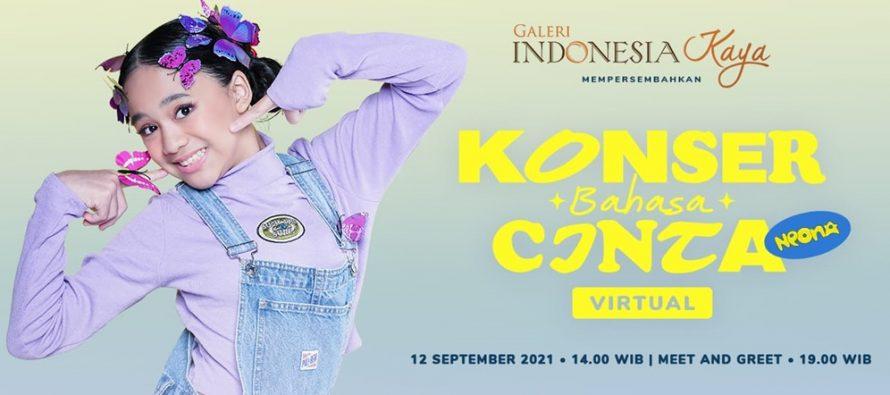 """Konser virtual bahasa cinta """"Neona"""" siap hibur keluarga Indonesia akhir pekan ini."""