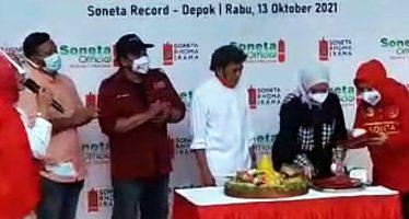 """Raja Dangdut Rhoma Irama Luncurkan """"Soneta Official""""."""