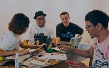 """Studio Pop Show"" berkolaborasi dalam sebuah karya seni untuk band ""Naif""."